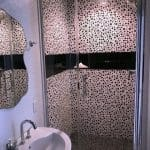 Edited Shower Enclosure with spotted tile after